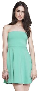 Express short dress Mint Green on Tradesy