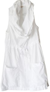 LAmade White Cowl Neck Cotton Tunic