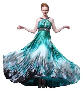 Cinderella Divine Evening Wear Special Occasions Prom Homecoming Print Dress
