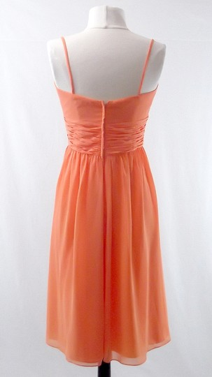Alfred Angelo Chiffon Style 7018 Casual Bridesmaid/Mob Dress Size 8 (M)