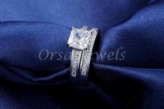 Other Square Austrian Crystal Ring Stamped s925