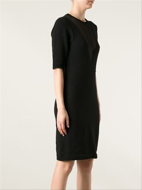 Carven Hot Wool Sheer Fall Dress