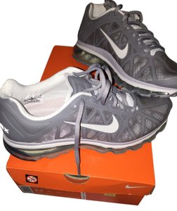 best service 78393 aa6d6 Nike Grey white Athletic. Nike Grey White Air Max 2011 Sneakers Size US 9.5  ...