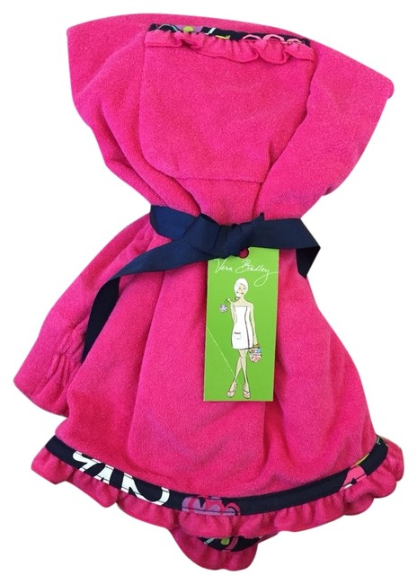 Item - Pink Terry Cloth Wrap Cover-up/Sarong Size OS (One Size)
