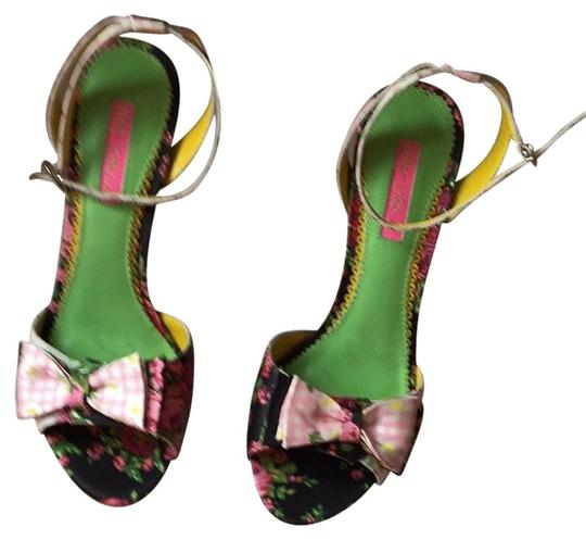 Betsey Johnson Floral Pumps