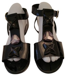 Robert Clergerie Black Sandals