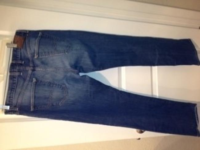 Lucky Brand Boyfriend Cut Jeans-Medium Wash