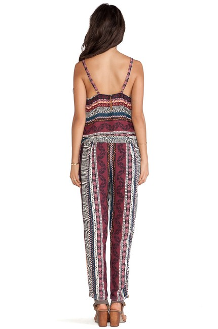 Eight Sixty Pant Patterened Dress