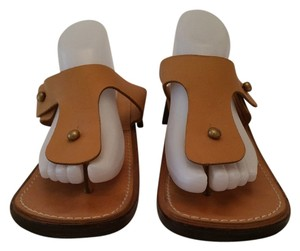 Robert Clergerie Tan Sandals