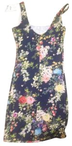 Pull&Bear short dress Floral on Tradesy