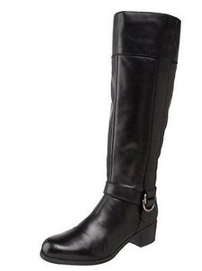 Bandolino Codi Womens Knee Black Boots