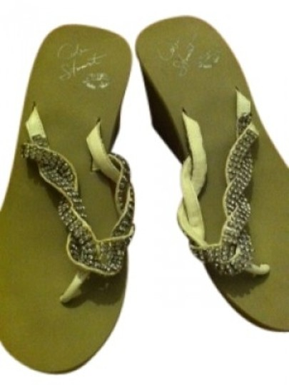 Preload https://item2.tradesy.com/images/colin-stuart-sand-with-rhinestones-3-inch-colored-wedge-sandals-size-us-8-regular-m-b-33796-0-0.jpg?width=440&height=440