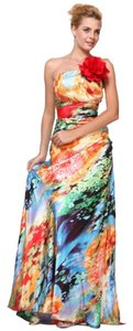 Cinderella Divine Evening Wear Formal Occasions Prom Special Occasions Print Dress