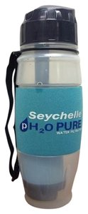 Seychelles Seychelle Water Filtration Gym Workout Water Bottle Pure Micro Filter Cup H20
