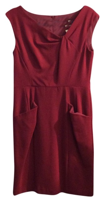 Preload https://item1.tradesy.com/images/raspberry-knee-length-workoffice-dress-size-8-m-3380500-0-0.jpg?width=400&height=650