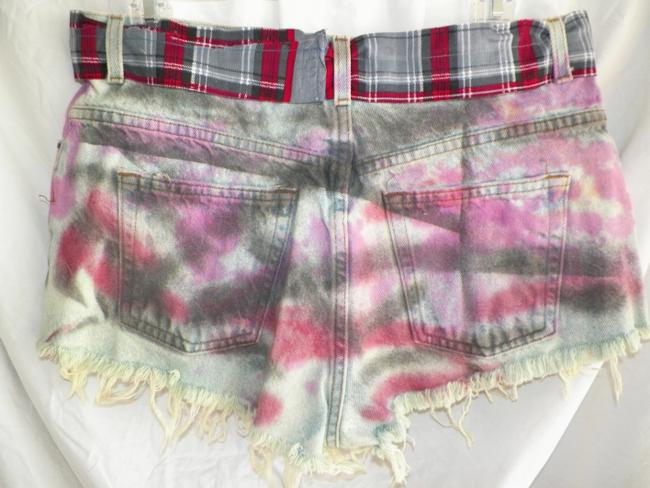Other Denim Jean Eco Green Clothing Green Fashions Vintage Hippie Punk Trailer Trash Eco Friendly Upcycled Affordable Felon Cut Off Shorts various