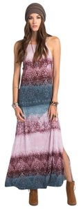Purple And Blue Maxi Dress by O'Neill