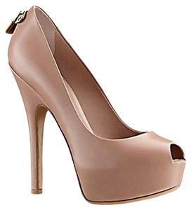 Louis Vuitton Nude Pink Pumps