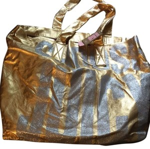 Juicy Couture Tote in Gold Silver