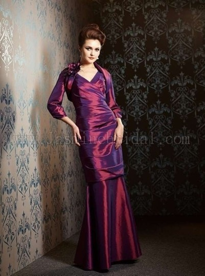 Jasmine Bordeaux Bnwt Jade Couture 3 Pieces Versatile J148058 Dress