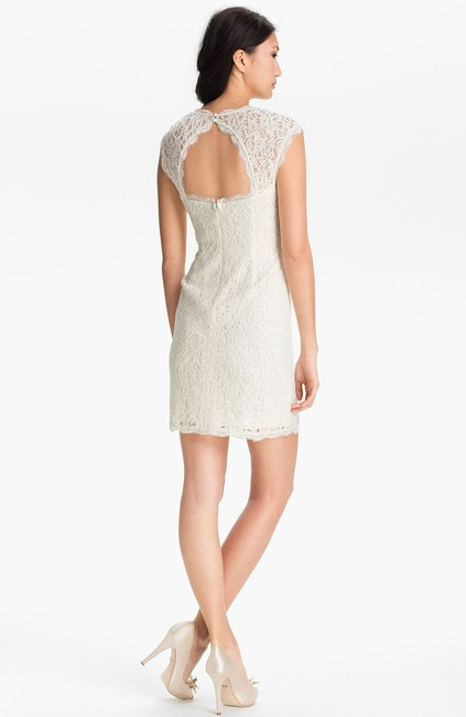 Adrianna Papell Lace Wedding Rehearsal Holiday Dress
