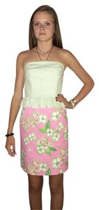 Lilly Pulitzer short dress LIGHT PINK AND WHITE on Tradesy