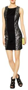 Tinley Road Mini Metallic Sleeveless Dress