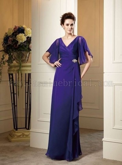 Jasmine Grape Bnwt Jade Couture J145051 Dress