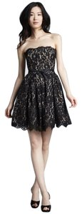 Neiman Marcus Lace Wedding Party Formal Dress