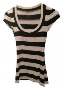 Express T Shirt Black and White