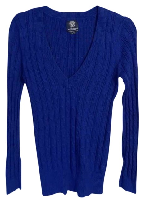 Preload https://img-static.tradesy.com/item/338290/american-eagle-outfitters-blue-sweaterpullover-size-12-l-0-0-650-650.jpg