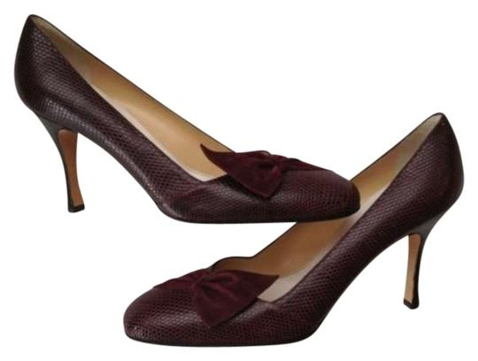 Preload https://item4.tradesy.com/images/aubergine-lizard-suede-handcrafted-pumps-size-us-10-338298-0-0.jpg?width=440&height=440