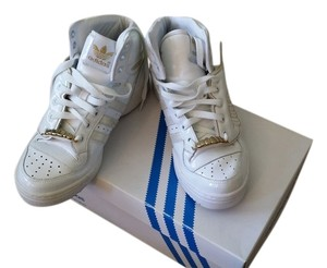 adidas Sport Sporty Chic Rock Girly White and Gold Athletic