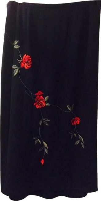 Other Skirt Black/red/green