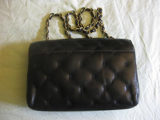 Chanel Small Classic Flap Cross Stitch X Quilted Tote Shoulder Bag