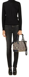 Gucci Guccissima Sukey Tophandle Satchel in Black