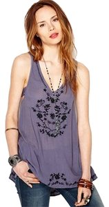 Free People Boho Embroidered Top