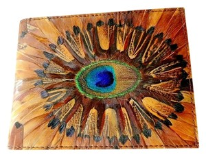 Other New Peacock Feather Wallet