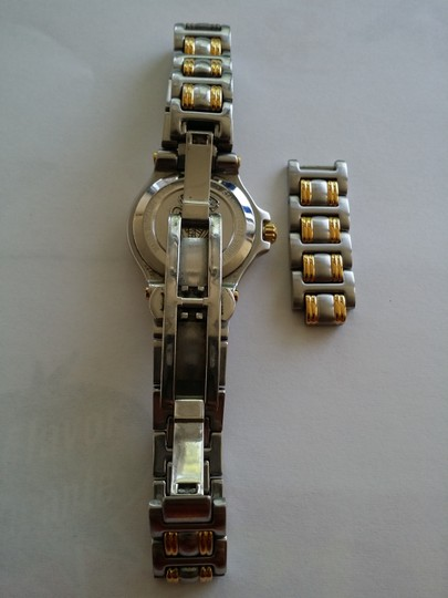 Gucci Stainless Steel Two Toned Gucci Watch
