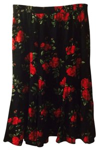 jessica scott Skirt Black/red/green