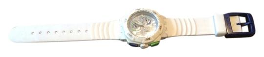 Preload https://img-static.tradesy.com/item/3385435/swatch-white-with-green-and-navy-accent-unisex-watch-0-0-540-540.jpg