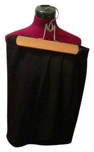 St. John Knits Designer Mini Skirt black