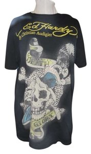 Christian Audigier T Shirt black