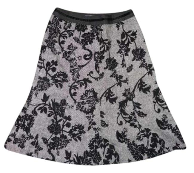 Ann Taylor Skirt black & white