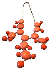 J.Crew Amazing Peach/Orange Bib Necklace