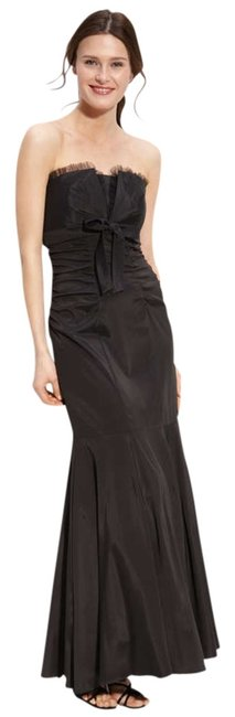 Xscape black dress (Nordstroms) Strapless Taffeta Mermaid Gown Slimming Dress