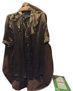 Gucci Button Down Shirt Bronze/Brown