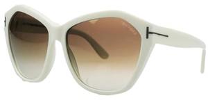 Tom Ford Tom Ford Bone Oversized Sunglasses