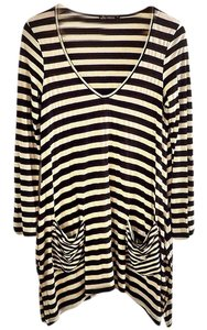 Ella Moss V-neck Tunic Sweater