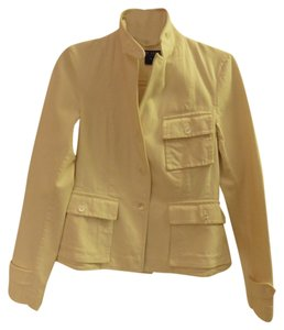 Ralph Lauren Collection Cotton Cream Womens Jean Jacket